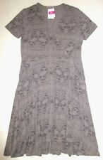 FRESH PRODUCE Large Gray Smoke GECKO SEA SONG Criss-Cross Dress NWT New L