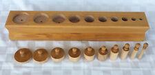 Nienhuis Montessori Cylinder Block # 3 Kids School Educational Toys 002100