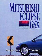 1989 Mitsubishi Eclipse GSX Original Car Review Report Print Article J775