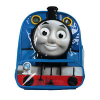Thomas The Tank Engine 3D Pockets Blue Childrens Backpack School Bag Rucksack