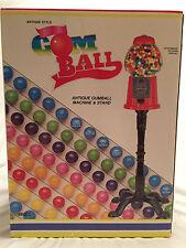 Antique Gumball Machine & Stand - 37-inch