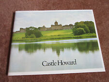 Castle Howard UK Guide Book 1974 History Photos Yorkshire Architecture Artwork