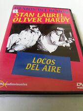 """DVD """"LOCOS DEL AIRE"""" PRECINTADO SEALED STAN LAUREL OLIVER HARDY"""