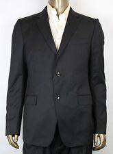 $1465 New Authentic Gucci Men's Black Wool Blazer IT 52 / US 42 337686 1000
