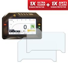 HONDA FIREBLADE CBR1000RR '17> Screen Protector - 1x Ultra-Clear & 1x Anti-Glare