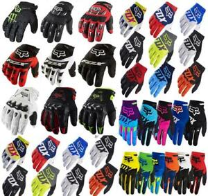 Mens FOX Gloves Racing Motorcycle Gloves Cycling Bicycle MTB Road Bike Riding
