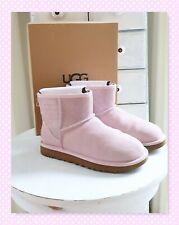 UGG BOOTS W CLASSIC MINI SPARKLE 1098452 Gr. 39 seashell pink Glitzer-Logo NEU