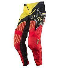 *NEW* MSR M14 Rockstar Moto Offroad Pants Yellow & Red Youth 20 pn 351691