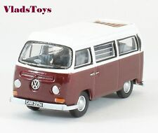Oxford 1/76 VW Volkswagen T2 Bay Window Camper Colorado Metallic/White 76VW025