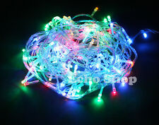 MultiColor 30M Christmas Xmas Garden Party Wedding LED String Fairy Lights UK
