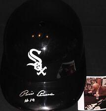 Billy Pierce Chicago White Sox Autographed Signed Souvenir Full Size Helmet A