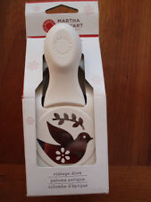 NIB! New!  MARTHA STEWART VINTAGE DOVE Double Craft PUNCH - Christmas holiday