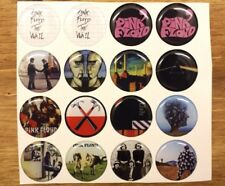 PINK FLOYD Epoxy Stickers 1 inch round for Bottle Caps & Craft Projects