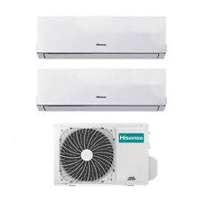 Climatizzatore Condizionatore Hisense Dual Split Inverter 7+7 7000+7000 Btu A++