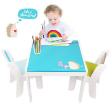Wooden Child Nursery Play Table And Chairs Set Kids Play Activity Toys Furniture
