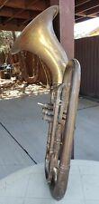 Baritone YORK  vintage Euphonium tuba/horn