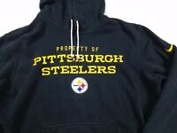 Property Of Pittsburgh Steelers NFL Nike Training Pullover Hoodie Adult L