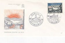 Monaco 1963 Freedom from Hunger FDC Très bon état