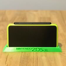 Nintendo 2DS XL / LL Console - 3D Printed Stand GREEN (or BLACK)