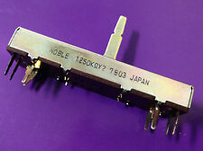 4 pcs Noble 50KΩ x2 Slider Pot HiFi Amp 50K Ohm Potentiometer NOS