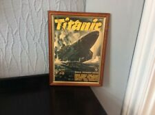 Old RMS TITANIC Framed Movie Picture Poster German Propaganda Regie Selphin