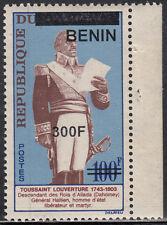 Benin MNH RARE Overprint Sc 1466 Value $ 25,oo US