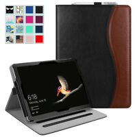 For New Microsoft Surface Go 10 inch 2018 Tablet Multi-Angle Case w/ Card Pocket