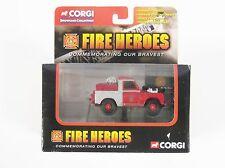 Corgi Fire Heroes Land Rover City of Bath Fire Department CS90065