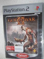 God of War II 2 PS2 Game PAL