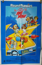 POUND PUPPIES AND THE LEGEND OF BIG PAW FF ORIG 1SH MOVIE POSTER (1988)