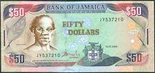 TWN - JAMAICA 79e - 50 Dollars 15/1/2004 UNC PREFIX JY