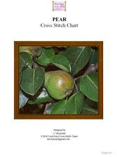 PEAR - cross stitch chart - PDF fie