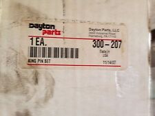 DAYTON 300-207  King Pin Set Series: Ford Axle Model: 7000, 7500, 9000 Lb