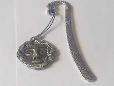 the Green man code dr84  Made From English Pewter On A DRAGON Bookmark