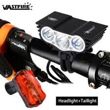 SolarStorm 15000Lm 3x XM-U2 LED Front Bicycle Lamp Bike Light HeadLamp Headlight