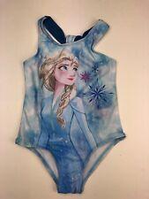 Disney Frozen 2 Girls Elsa One Piece Swimsuit NWT