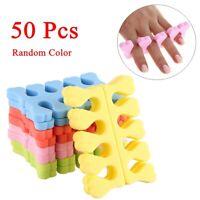 50 Stück Nail Art Soft Foam Toe Finger Separator Maniküre Pediküre Werkzeuge