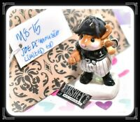 ❤️Wee Forest Folk Joe Di'Mousio Batter-Up! MS-15 Baseball Chicago White Sox❤️