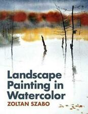 Landscape Painting in Watercolor by Zoltan Szabo (English) Paperback Book Free S