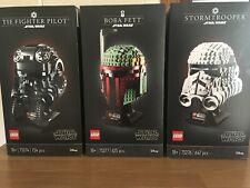 LEGO Star Wars  75276/75277/75274 Helmet  Sets IN HAND.reduced