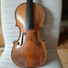 Sehr Alte Interessante Geige, 4/4. Very Old,  Interesting Violin.