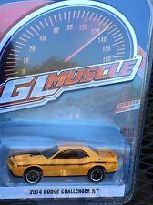 Greenlight MUSCLE  Series 18 2014 Dodge Challenger R/T header orange