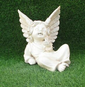 Memorial Cherub Angel Ornament Angel With Dove Grave Cemetery Ornament