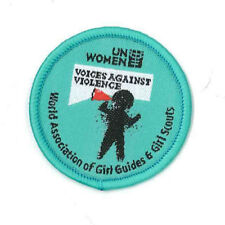 Girl Guide Scout Brownie BADGE PATCH – new! ~ WAGGGS Against Violence 1.5""
