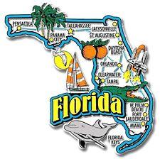 Florida Jumbo State Map Fridge Magnet