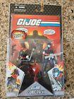 GI Joe 25th Anniversary Iron Grenadier and Cobra Viper Comic 2-Pack