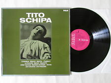 TITO SCHIPA LP, 1977 RCA VL 42099, MADE IN GERMANY, RARE, ONLY 1 ON EBAY, MINT.