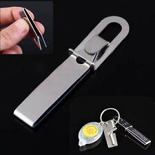 Outdoor Stainless EDC Gear Tweezers Gripper Pocket Survival Tool Keychain AU