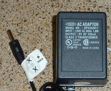 AC ADAPTER POWER SUPPLY DPX350817 6V DC 100mA