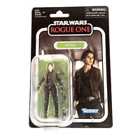 "Star Wars Rogue One Jyn Erso Action Figure Toy 3.75"" Inch The Vintage Series NEW"
